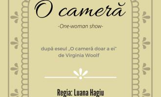 """""""O cameră"""" – one-woman show în premieră la TNAMT"""