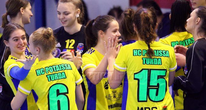 Echipa de fete AHC Potaissa Turda se pregătește pentru primul meci oficial din acest sezon