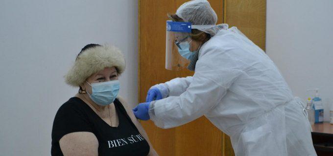 Prima zi de vaccinare împotriva SARS-CoV-2 la Câmpia Turzii