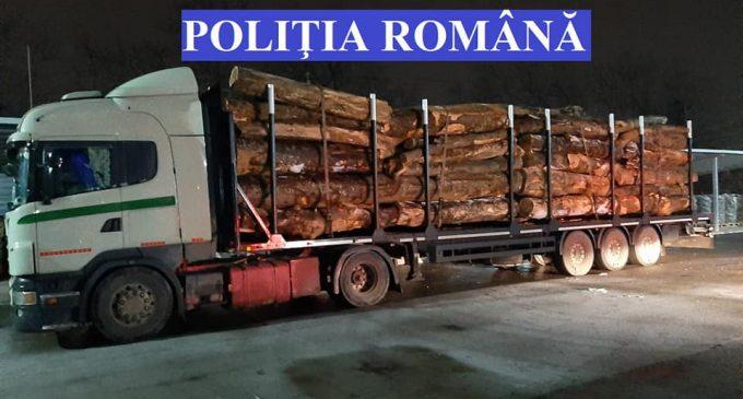 Transport de material lemnos confiscat