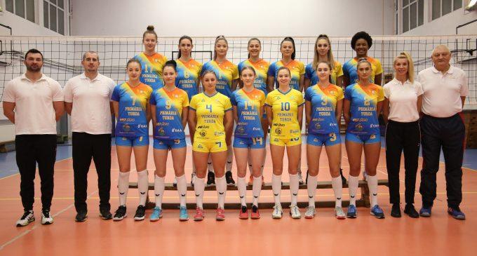"""Weekend decisiv pentru ACS Volei Turda """"Cristina Pîrv"""". Trei meciuri despart echipa turdeană de promovarea în prima ligă"""