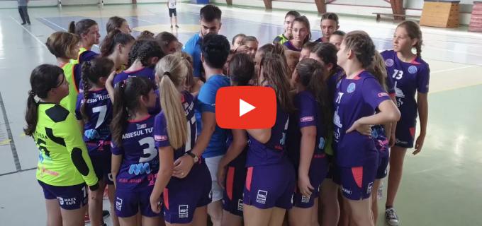 Handbal Club Ariesul Turda debutează vineri în Campionatul Național Junioare 3