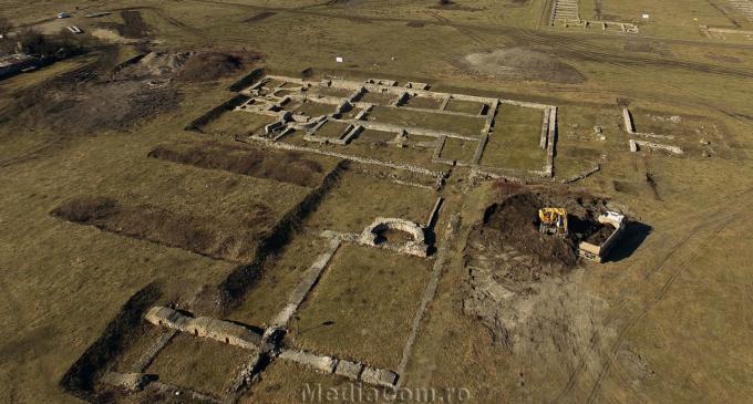 VIDEO: Au început lucrările de modernizare și punere în valoare a Castrului Roman!