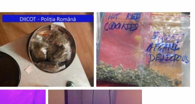 Traficanți de droguri reținuți la Cluj pentru săvârșirea infracțiunii de trafic de droguri de risc și mare risc