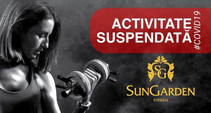 SunGarden Fitness Turda: Se suspendă și activitatea claselorde Yoga și Tae Bo!