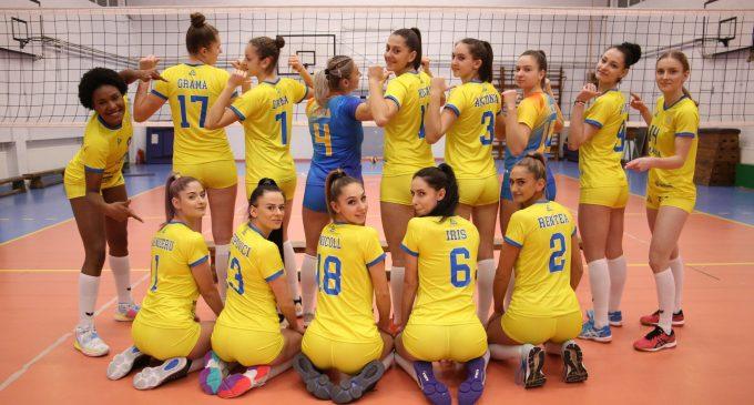 """ACS Volei Turda """"Cristina Pîrv"""" a bifat astăzi prima victorie din cadrul turneului de la Craiova!"""