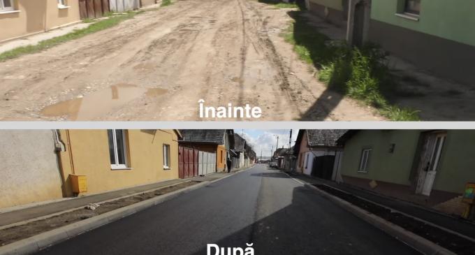 VIDEO: Încă o stradă modernizată în municipiul Turda