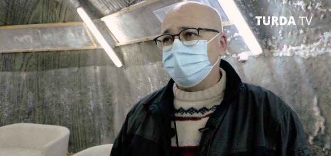 VIDEO. Recuperare post-COVID, la Salina Turda: Am venit aici la recomandarea medicului pneumolog