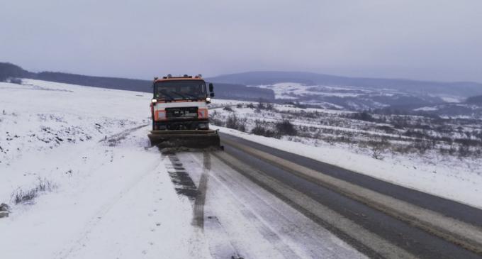 ⚠ Atenție șoferi! Cod galben de ninsori! ⚠