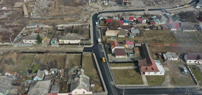 Primăria Turda: Ne apropiem de finalizarea lucrărilor de modernizare a străzii Nicolae Teclu