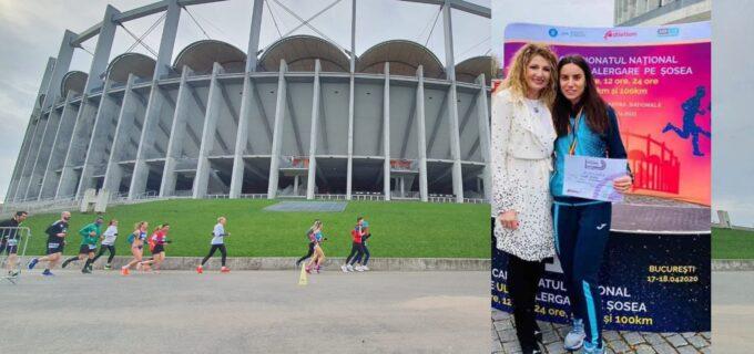 Rezultat excepțional pentru turdeanca Ionela Dobriță la Campionatul Național de alergare pe șosea