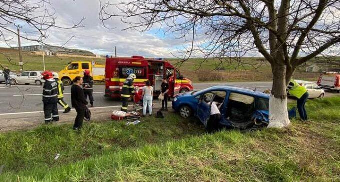 Accident grav în județul Cluj! FOTO