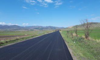 Lucrările de modernizare a drumului județean 107M vor fi reluate, cu fonduri europene