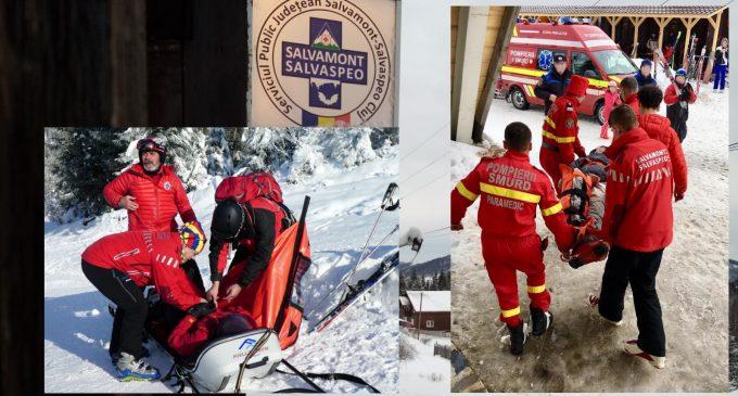 Peste 190 de persoane au necesitat sprijinul salvamontiștilor clujeni în acest sezon de iarnă
