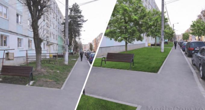Primăria Turda: Începând de mâine, spațiile verzi de pe străzile Amurgului și Toamnei intră în modernizare