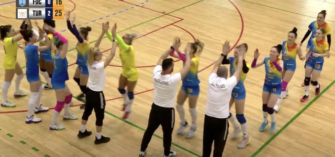 Turda, pe prima scenă și la VOLEI! ACS Volei Cristina Pîrv Turda a promovat în Divizia A1