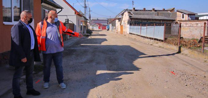 Primăria Turda: Încă o stradă din cartierul Industrial intră în modernizare