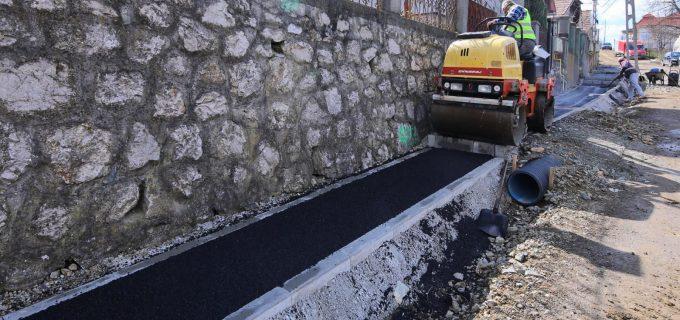 Primăria Turda: Continuăm modernizarea străzii Cocoșului