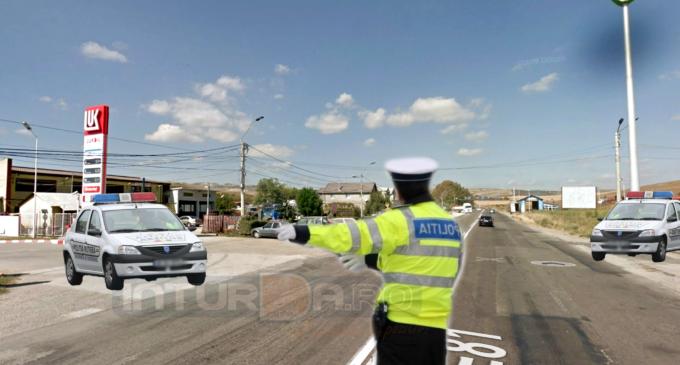 Polițiștii turdeni în acțiune: Șofer depistat cu 147km/h și 31 de permise reținute în doar două zile!