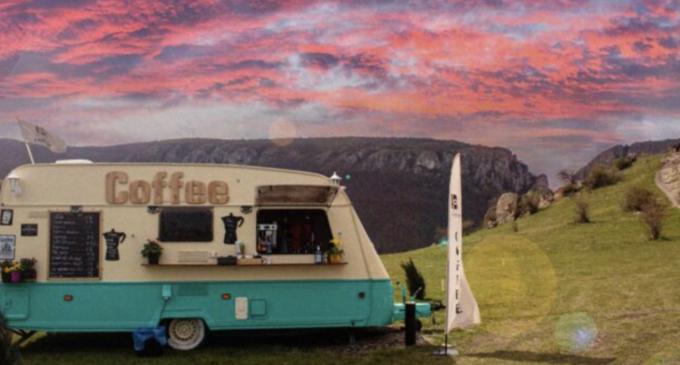 The Coffee Van va așteaptă pe platoul de sus al Cheilor Turzii sa va rasfatati simțurile cu o cafea de specialitate (P)