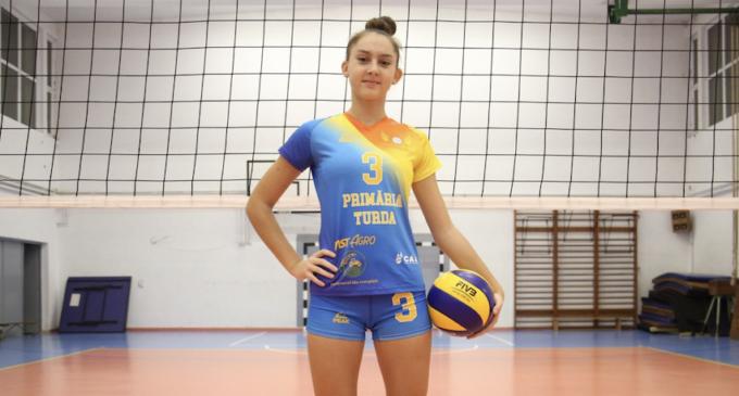 Antonia Gheti, sportiva echipei ACS Volei Turda, selecționată în lotul care va reprezenta România U16