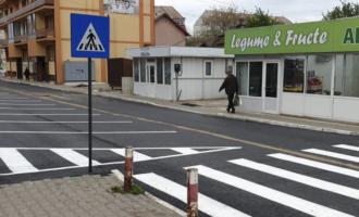 Au fost finalizate lucrările de reabilitare a străzii Băii. FOTO