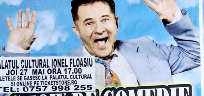 Joi, 27 mai: Show de comedie la Câmpia Turzii