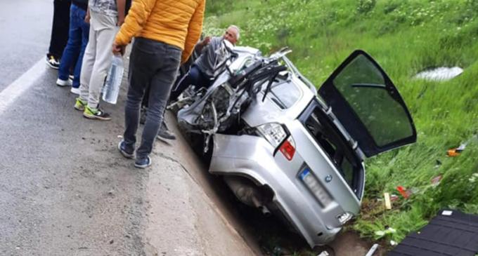 Accident grav între Apahida și Vâlcele FOTO/VIDEO