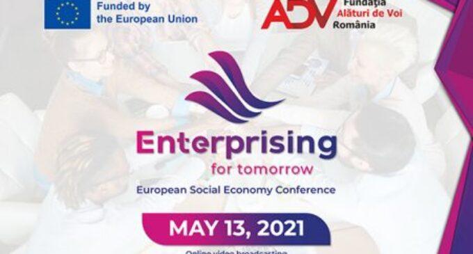 "Fundația ""Alături de Voi"" Români organizează Conferința Enterprising for Tomorrow – Social Entrepreneurship & Youth Engagement"