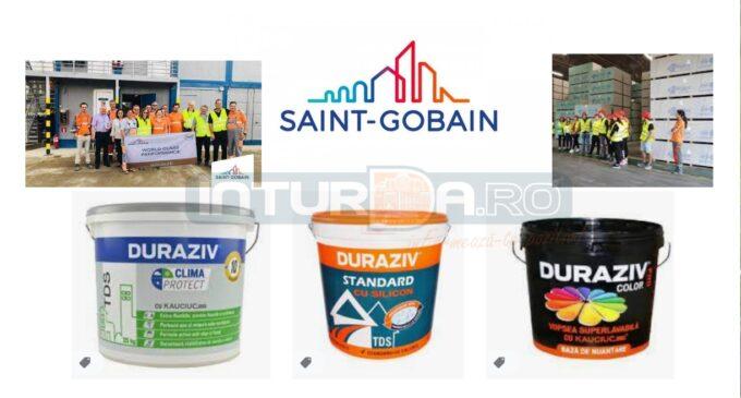 Exclusiv: Grupul Saint-Gobain va achiziționa Duraziv, producătorul românesc de materiale de construcții