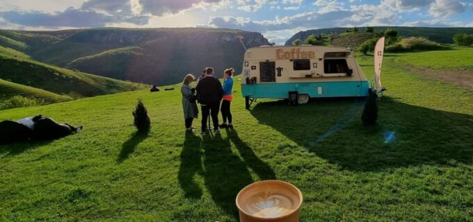 The Coffee Van, cafea cu priveliște în Cheile Turzii (P)