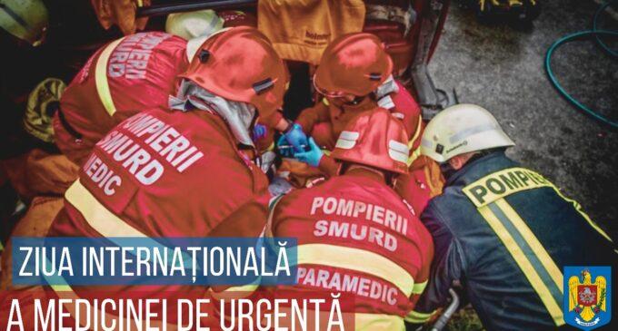 27 mai – Ziua Medicinei de Urgență. IGSU: Vă mulțumim vouă, celor care săriți în sprijinul semenilor voștri, fie zi, noapte, ploaie sau ninsoare