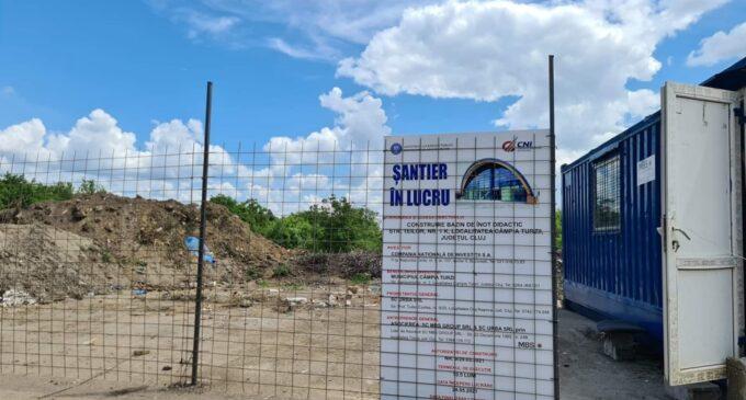 Dorin Lojigan: Au început lucrările la Bazinul Didactic de Înot