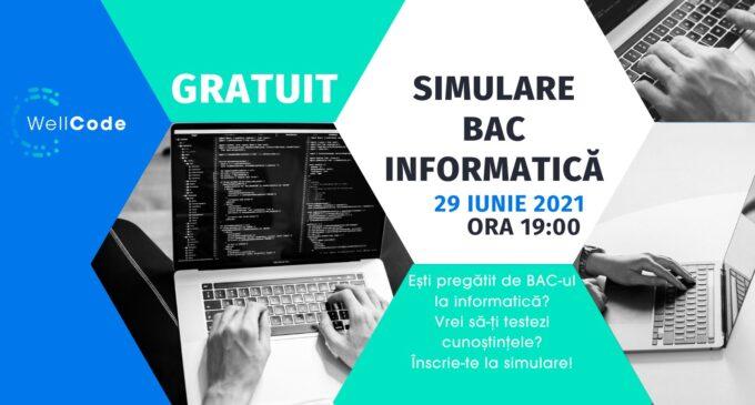 Simulare gratuită pentru elevii care dau BAC la informatică