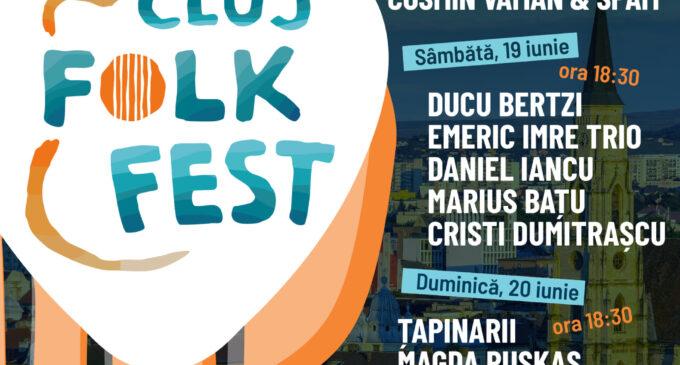 Cluj Folk Fest 2021 – La mijloc de iunie, Clujul vibrează pe ritmuri de folk