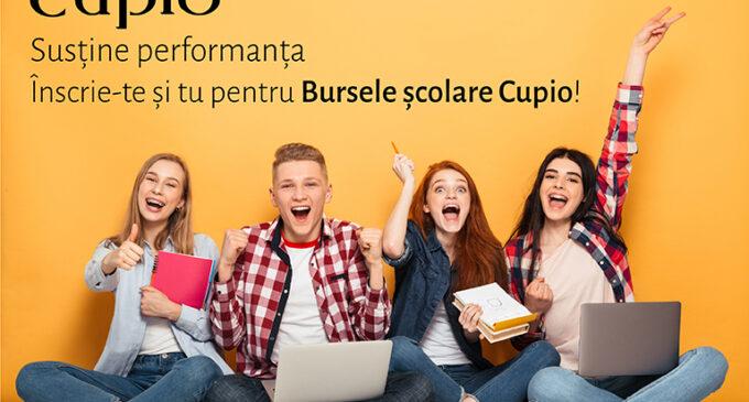 """Liceeni cu rezultate școlare remarcabile se pot înscrie până pe 1 iulie în programul """"Bursele Cupio"""""""