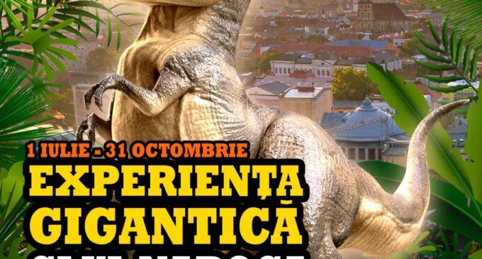Cea mai mare expoziție de dinozauri ajunge la Cluj-Napoca, la Tetarom I