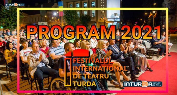 Vezi aici programul Festivalului Internațional de Teatru Turda 2021