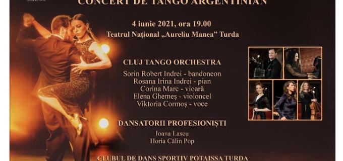 """Concert de TANGO ARGENTINIAN la Teatrul Național ,,Aureliu Manea"""" Turda"""