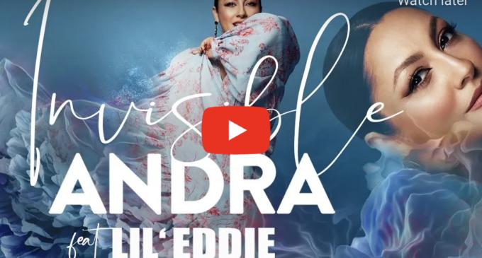 """Andra a lansat un nou single în limba spaniola, """"Invisible"""", alături de Lil' Eddie"""