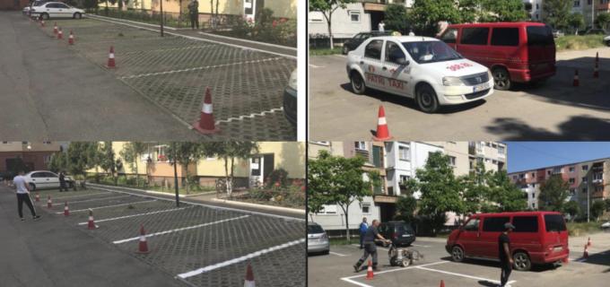 Procesul de reamenajare a parcărilor de reședință este în plină desfășurare la Câmpia Turzii