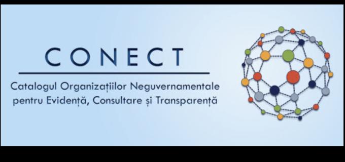 CONECT – o nouă resursă pusă la dispoziția Organizațiilor Neguvernamentale de către Guvernul României