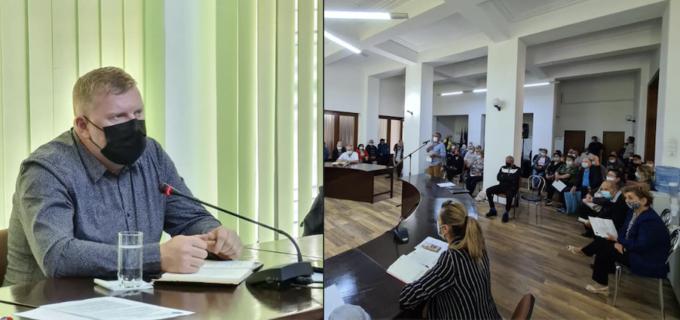 Primarul Dorin Lojigan, față în față cu reprezentanții asociațiilor de proprietari