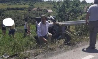 Accident rutier în județul Cluj!  Doi adulți și doi minori, răniți GRAV