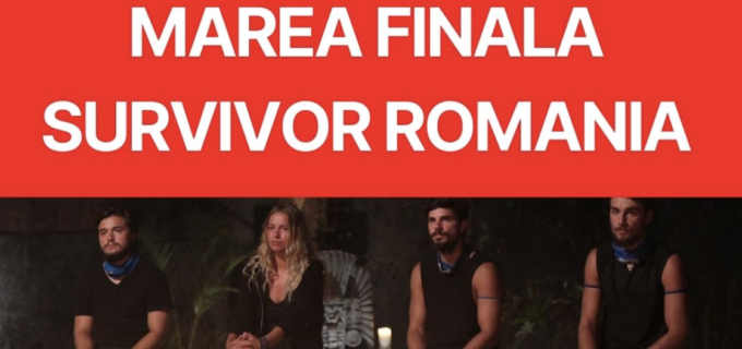 """E OFICIAL! Cand are loc Marea Finală """"Survivor România"""""""