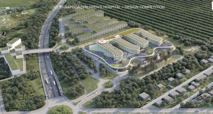 Spitalul Pediatric Monobloc de la Cluj avansează în ritm susținut