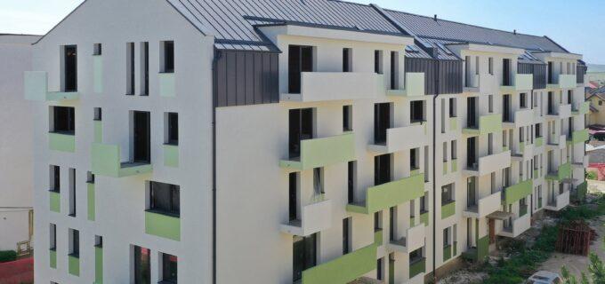Cristian Matei: Blocul de locuințe pentru tineri de pe strada Zambilelor a început să prindă culoare.