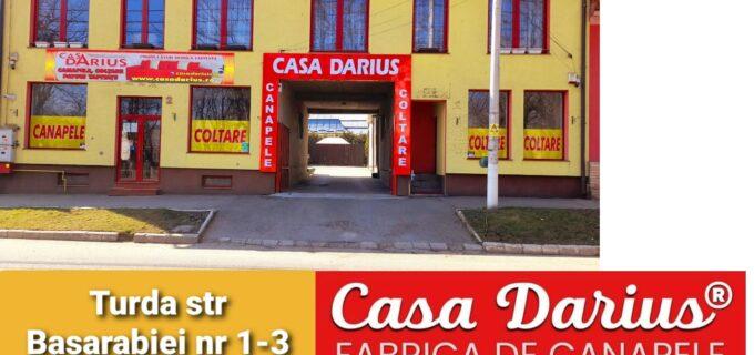 Casa Darius Turda – Calitate superioară! Canapele, colțare și paturi tapițate la PREȚ de PRODUCĂTOR