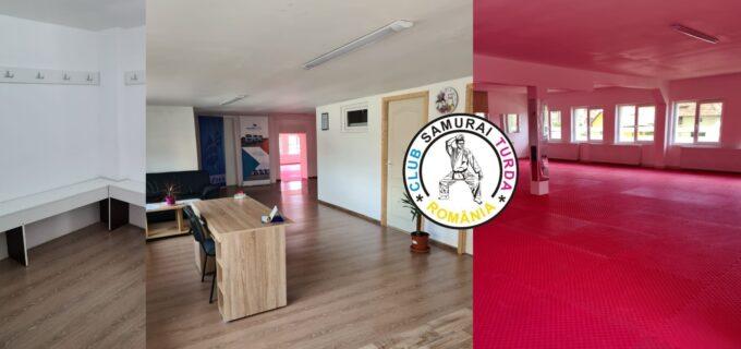 Clubul Sportiv Samurai Turda, într-o nouă locație! Ramura de fitness Samurai Turda vine și ea cu noutăți