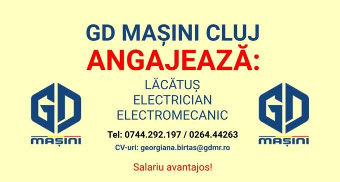 GD MAȘINI DE RIDICAT angajează: Lăcătuș, Electromecanic, Electrician